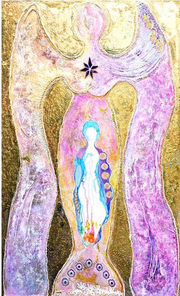 Engel im Stern der Schöpfung