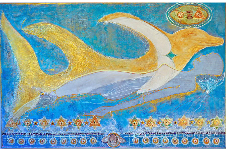 Der goldene Delphine