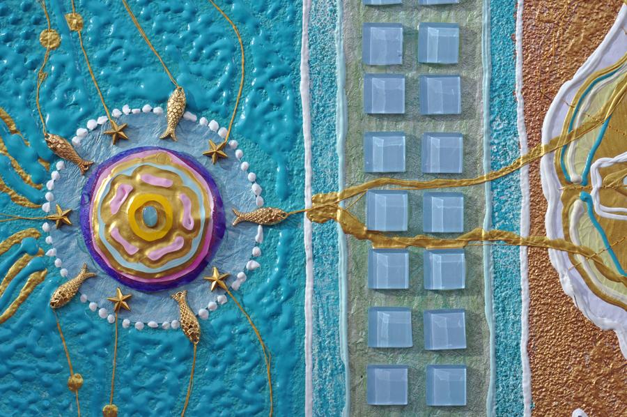 Kunstwerke der Malerin Erika Margarete Jansen